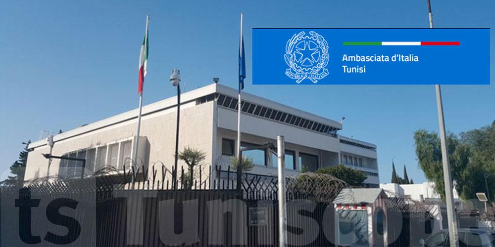 السفارة الإيطالية تحذر الإيطاليين المقيمين في تونس