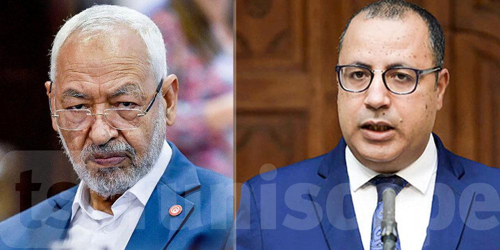 الغنوشي ضد استقالة المشيشي