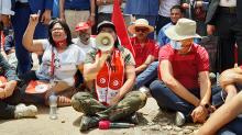 بدأ موسي اعتصامًا مفتوحًا في ساحة باردو